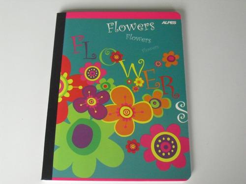 libreta escolar 100 hojas 1 línea (200 pág)