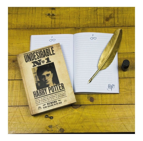 libreta lenticular harry potter