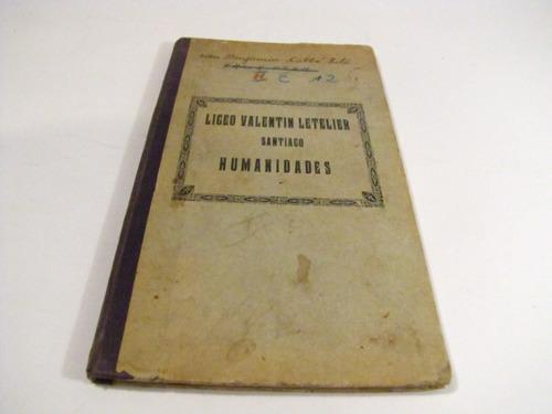 libreta liceo valentin letelier, 1926.