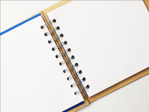 libreta madera corte láser oso osito oshito