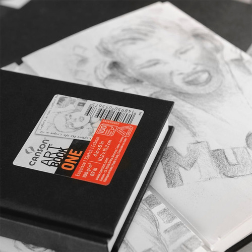 libreta para dibujo artbook one canson