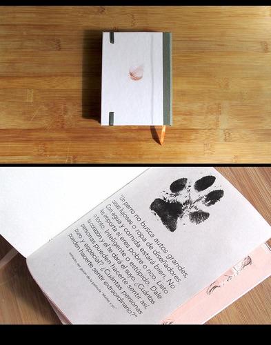 libreta pocket: historia de vida de un perro.