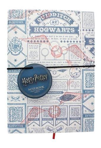 libreta quidditch harry potter