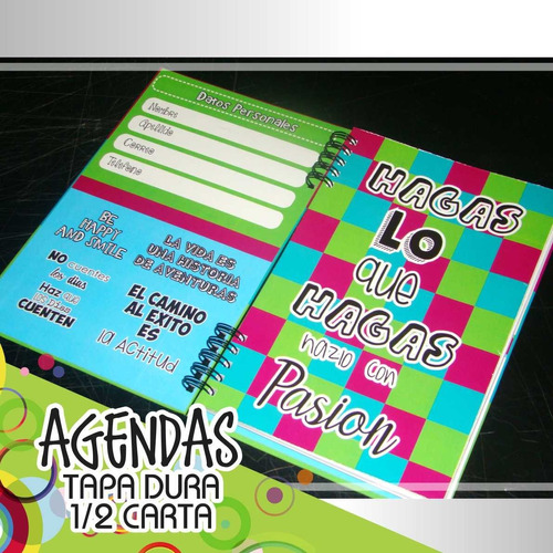 libretas agendas notas corporativas personalizadas