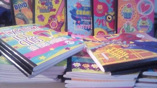 libretas escolares importadas cocidas mayor y detal cocidas