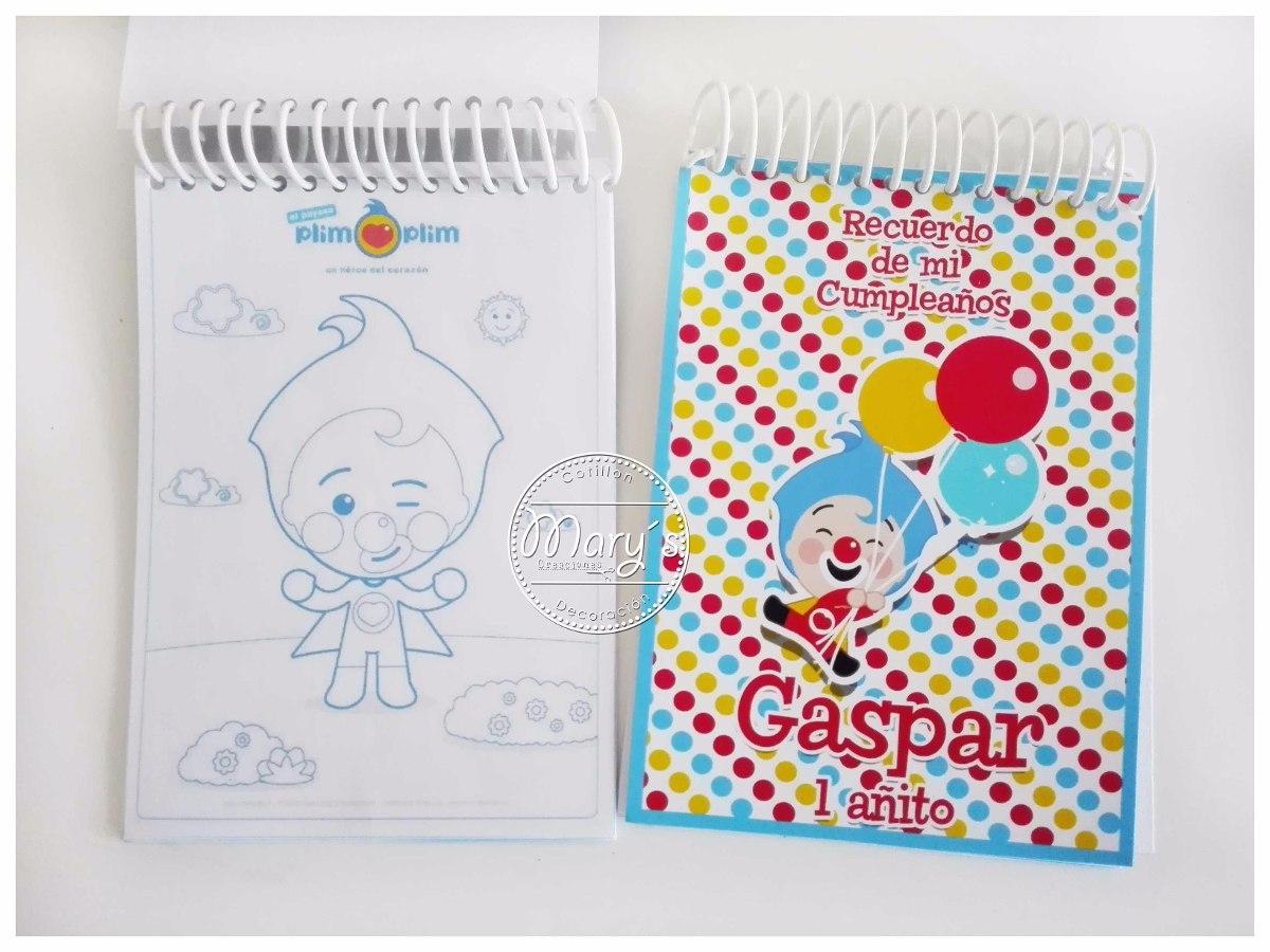 Libretas Mini Para Pintar Personalizadas Cumpleaños - $ 400 en ...