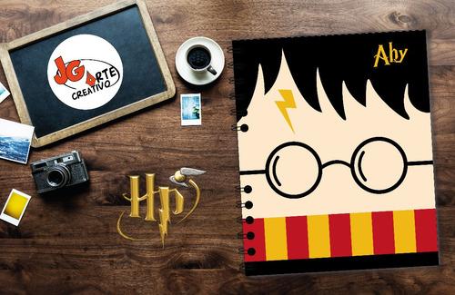 libretas personalizadas de harry potter