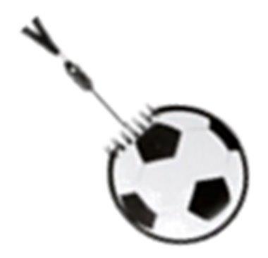 libretas portatiles en forma de balón de fútbol 001