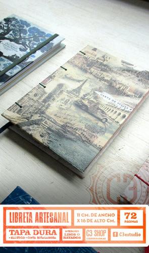 libretas y cuadernos pocket artesanales