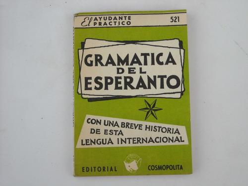 librito ayudante practico gramatica del esperanto  # 521