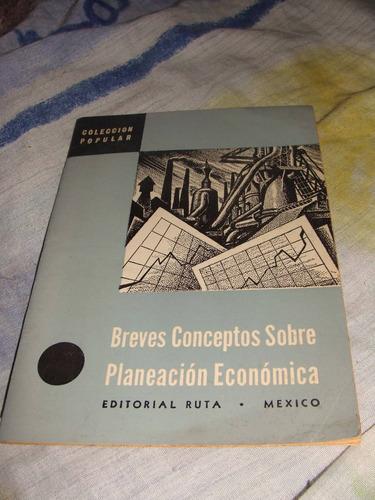 librito breves conceptos sobre planeacion economica