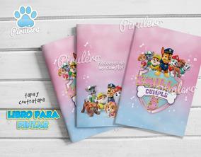 Librito Imprimible Para Colorear Patrulla Canina Paw Patrol