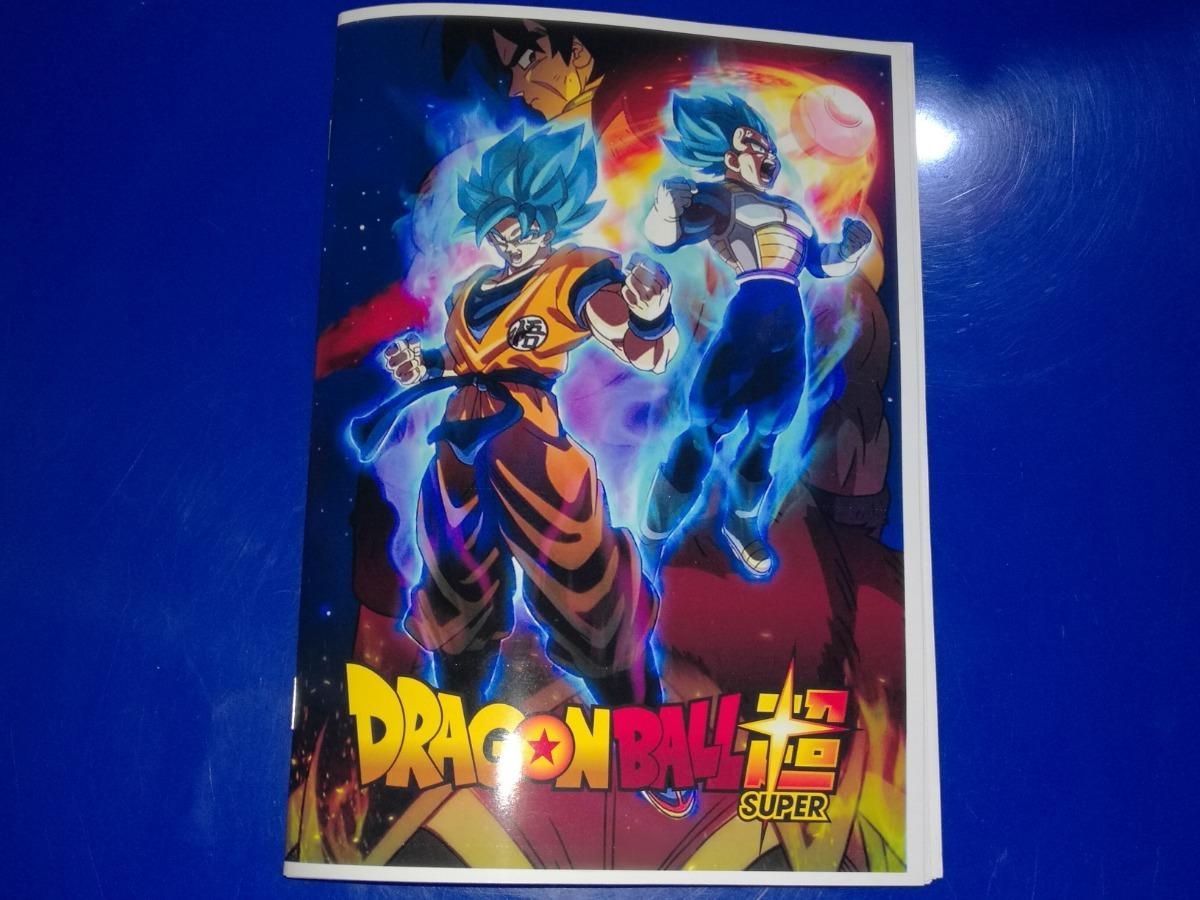 Libritos Para Colorear Dragón Ball Super Broly 30000 En Mercado
