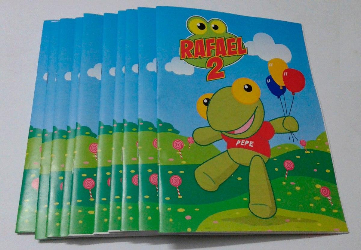 Libritos Para Colorear Personalizados, 10 Libros Para Pintar - $ 190 ...
