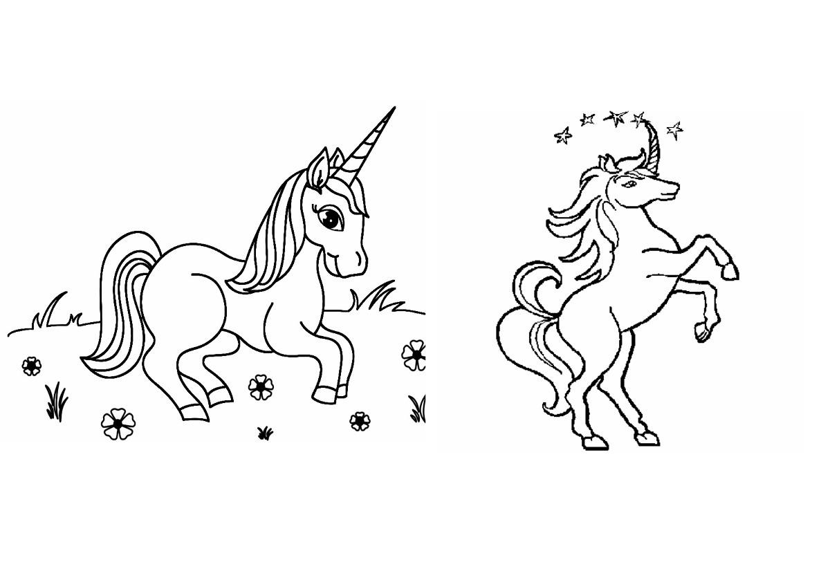 Libritos Para Colorear Personalizados 14x20 Cm Unicornio - $ 22,00 ...