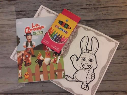 libritos para colorear souvenirs