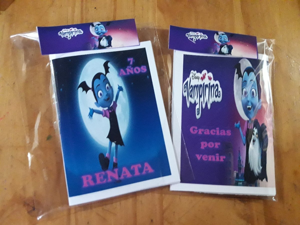 Libritos Para Colorear Vampirina , Ponys Personalizados - $ 7,00 en ...