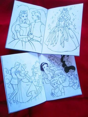 libritos para pintar. golosinas personalisadas. souvenirs