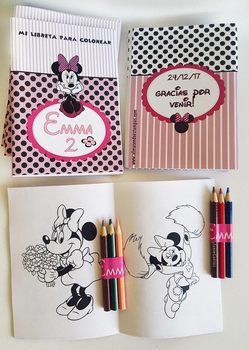 Libritos Personalizados Para Colorear Con Lápices/crayones - $ 25,00 ...