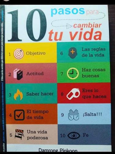libro 10 pasos para cambiar tu vida en excelentes condicione