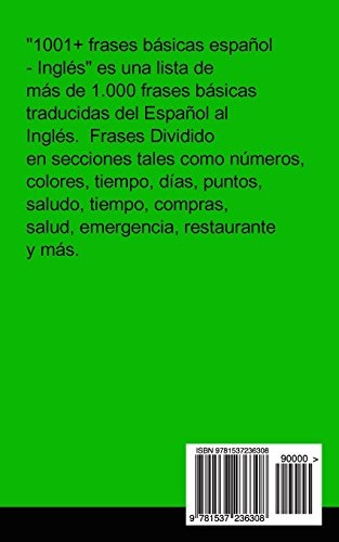 Libro 1001 Frases Basicas Español Ingles Gilad S