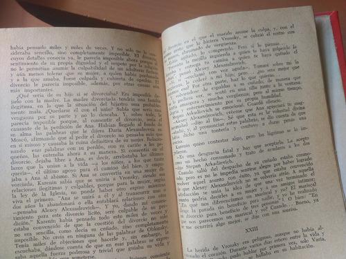 libro 1969 tolstoi ana karenina novela rusa (10d)