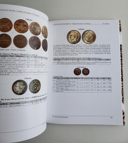 libro 2020 cómo coleccionar monedas catálogo venezuela