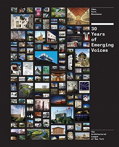 libro 30 years of emerging voices: idea, form, resonance