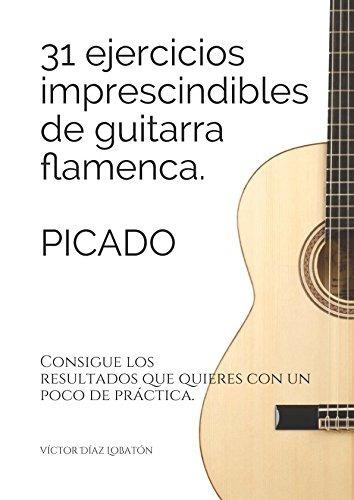 libro : 31 ejercicicios imprescindibles de guitarra flame...