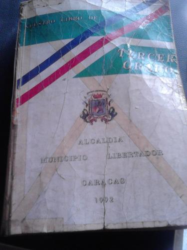 libro 3er grado castellano matematicas estudios sociales otr