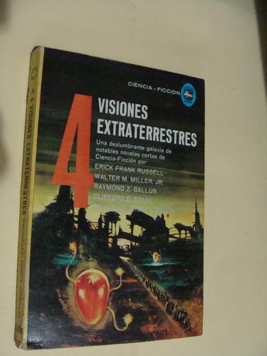 libro 4 visiones extraterrestres  , frank russell ,  año 196