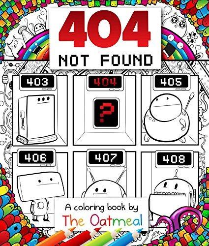 Libro 404 Not Found: A Coloring Book - Nuevo - $ 520.00 en Mercado Libre