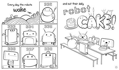 libro 404 not found: a coloring book - nuevo
