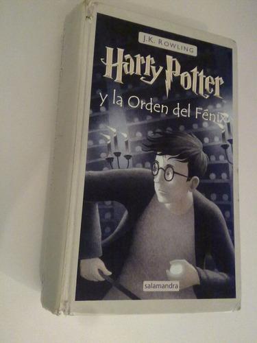 libro 5 harry potter y orden del fénix jk rowling maltratado