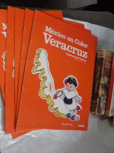 libro 5 piezas de mexico en color veracruz , segunda parte ,