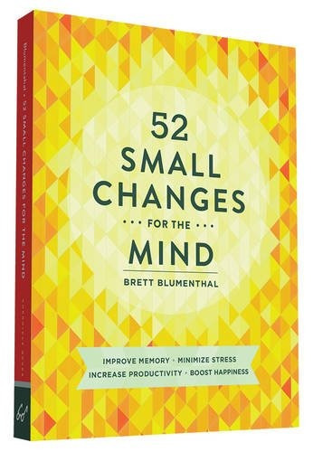 libro 52 small changes for the mind: improve memory - minimi