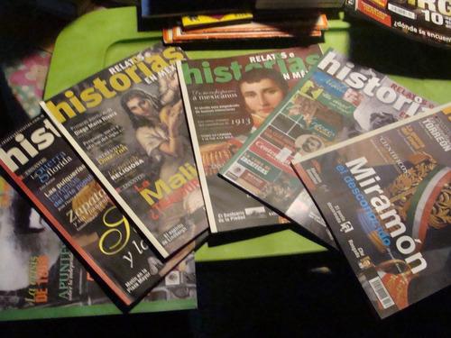 libro 6 revistas relatos e historias en mexico   , año 2005