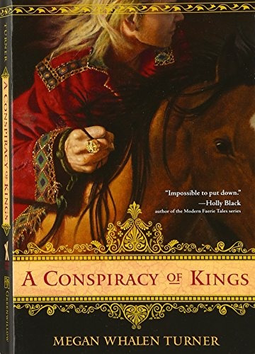 libro a conspiracy of kings - nuevo