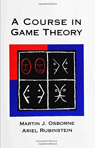 libro a course in game theory - nuevo