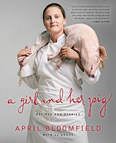 libro a girl and her pig: recipes and stories - nuevo