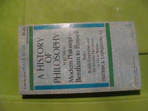 libro a history of philosophy vol. 8 , parte 1 , frederick c