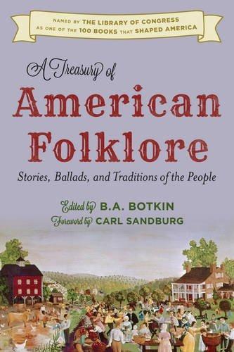 libro a treasury of american folklore: stories, ballads, a