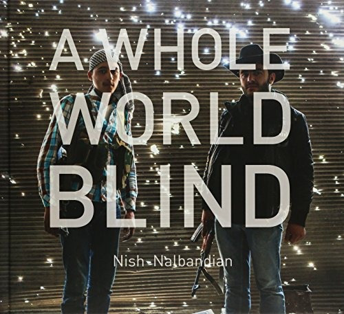 libro a whole world blind - nuevo