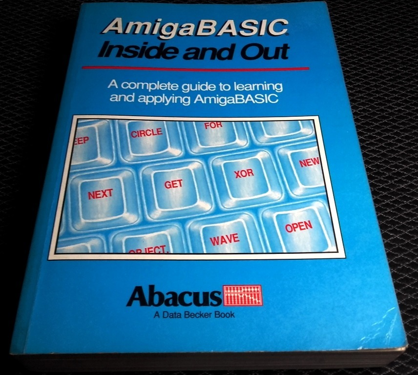 Libro Abacus Amiga Basic Inside And Out Commodore  - $ 49 500