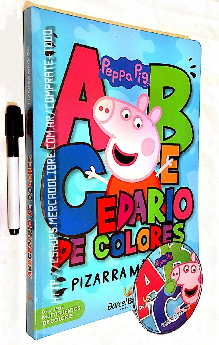 Libro Abecedario De Colores Peppa Pig Pizarra Magica - $ 950,00 en ...