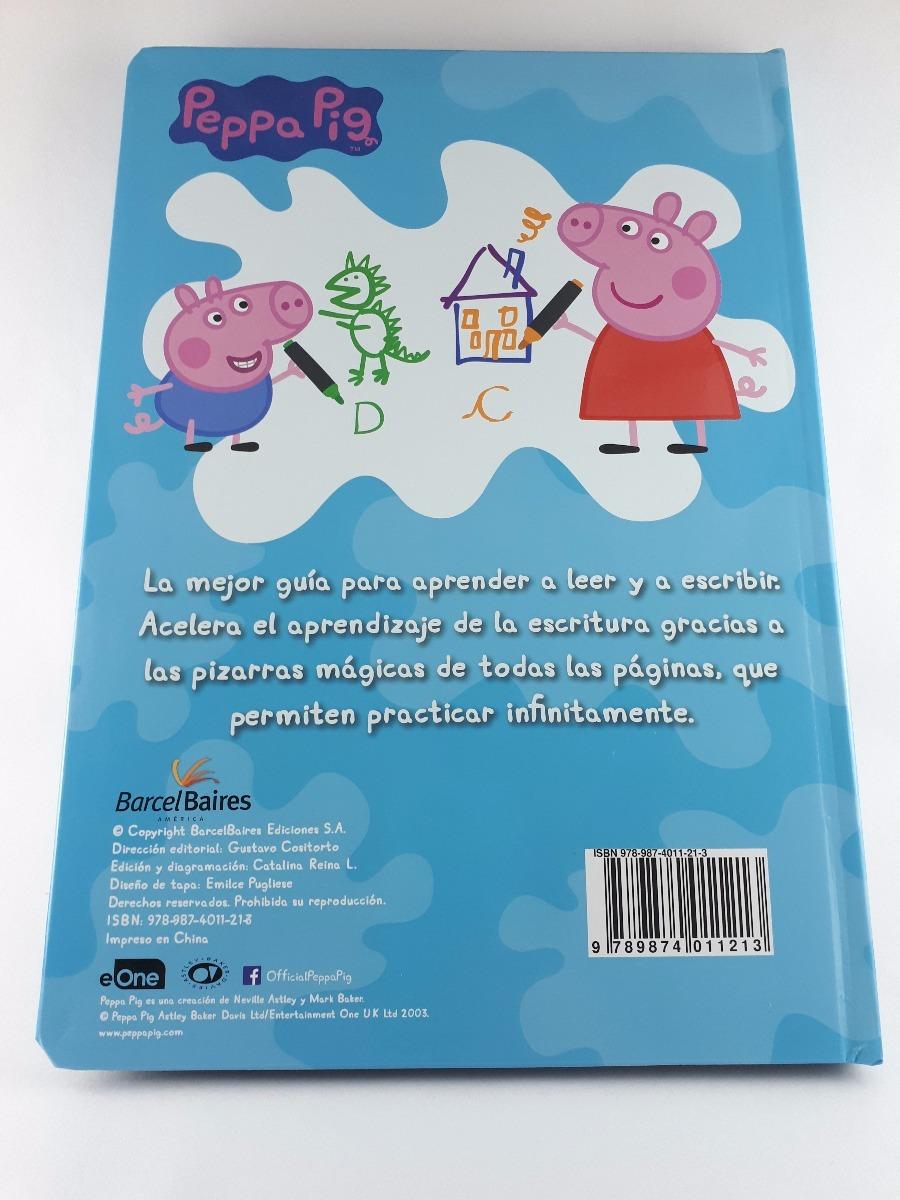 Libro Abecedario De Colores Peppa Pig Pizarra Mágica Barcel - $ 950 ...