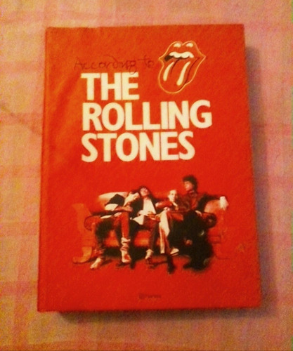 libro accrding to the rolling stones edt. planeta original