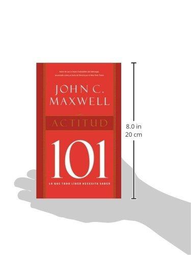 libro actitud 101 / attitude 101 - nuevo
