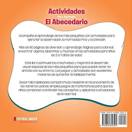 Libro : Actividades Para Aprender El Abecedario: Juegos Y... - $ 849 ...