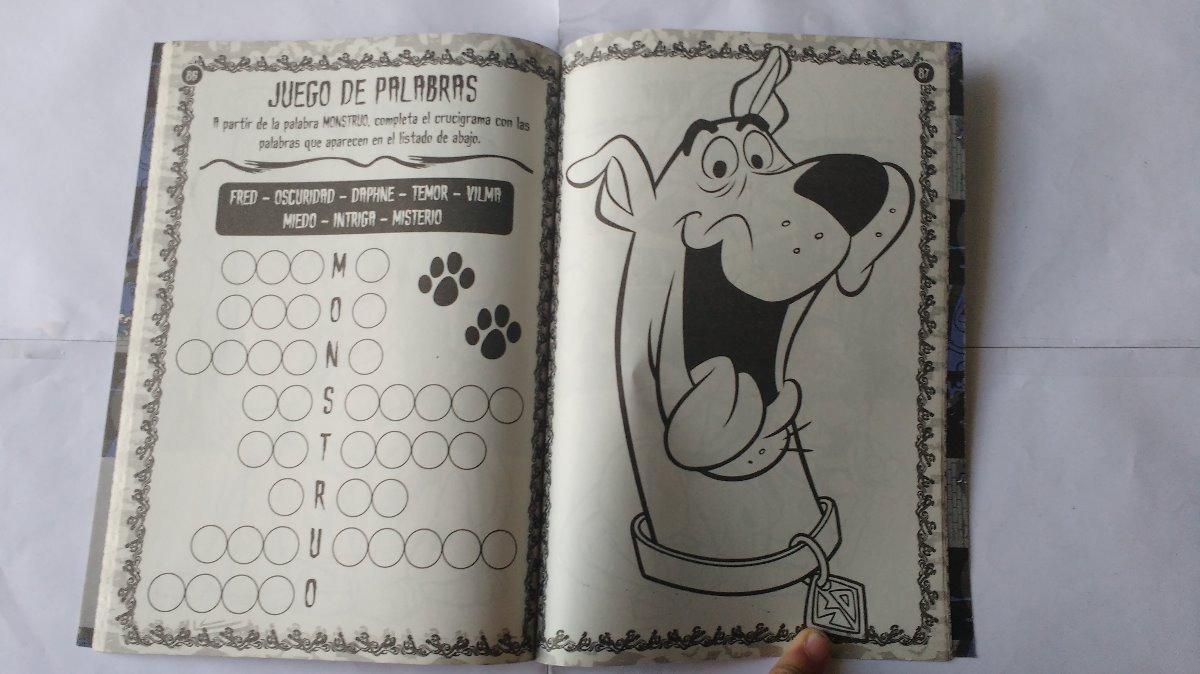 Libro Actividades Para Colorear Scooby-doo! 100 Paginas - $ 210,00 ...